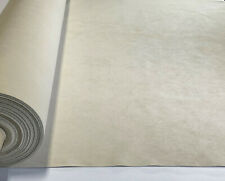 """Natural Tan Microfiber Authentic Ultra Suede Upholstery Fabric Soft Poly 62""""W"""