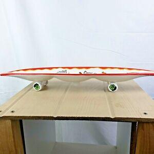 Bella Casa by Ganz Skateboard Serving Platter