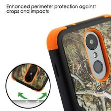 For LG Stylo 4 Phone Case Tuff HYBRID Shockproof Armor Rugged Hard Cover Camo