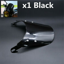 1Pcs Black Motor Bike Windshield Windscreen Protector Cover Fit For 5-7'' Light