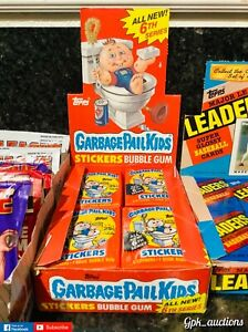 1986 Garbage Pail Kids 6th Series Unopened Packs! 1 unopened wax pack from box!