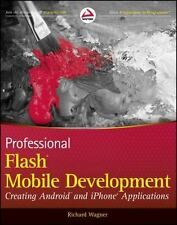 Professional Flash Mobile Development: Android + iPhone Applications, free ship!