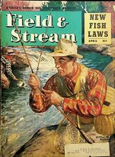 Vintage Field & Stream April 1947 Hunting Fishing Camping Sporting