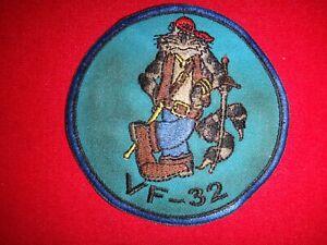 US Navy Fighter Squadron VF-32 FIGHTING SWORDMEN F-14 Tomcat Patch
