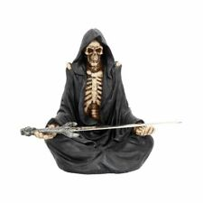 "Gothic Grim Reaper Skeleton ""Eternal Servitude"" Ornament Figurine"