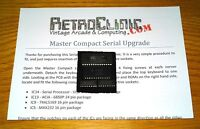 ACORN BBC MASTER COMPACT - SERIAL UPGRADE KIT WITH GUIDE