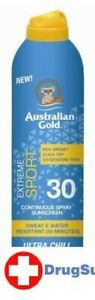 BL Australian Gold Continuous Spf#30 Spray Sport 6 oz - Two PACK