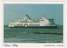 Shipping; Oostende - Dover Ferry Prins Filip PPC, Unused, c 1980's