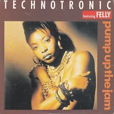 Technotronic Featuring Felly ‎Maxi CD Pump Up The Jam - France