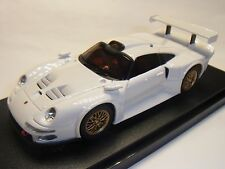Kyosho Dslot  Porsche 911 GT1 White D1431030502 1:43 Autorennbahn Slotcar