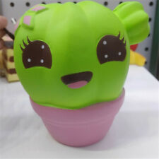 1X Cactus Slow Rising Scented Squeeze Toy Reliever Stress Gift