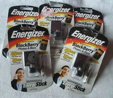 5 x Energizer Energi To Go Rechargeable Key Ring Charger for  Blackberry + more