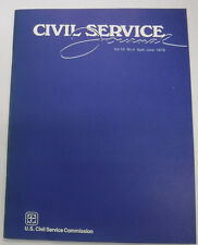 Civil Service Journal Magazine CSC Merit Team Recommendations June 1976 081515R