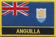 Pack Of Two Anguilla Sleeved Flag suitable for Boats 45cm x 30cm