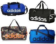 Adidas Lineal Duffle Sports Gym Natación Entrenamiento Fútbol Bolsa De Viaje Bolsas-medio