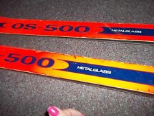 COS-500 skis made in Austria metal/glass, clix 190 brackets good condition some