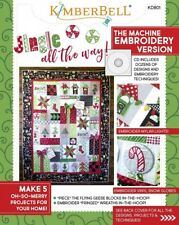 Jingle All the Way!Machine Embroidery Version book Designs w/ Cd by KimberBell