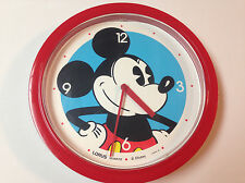 Lorus Disney Mickey Mouse wall clock,10 inch,light signs of wear/age,runs   K123