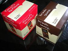 LICHFIELDS TOMATO KETCHUP BROWN SAUCE 100 9.5g SACHETS & FREE P&P