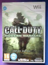 Call of Duty Modern Warfare Reflejo Edición Wii tirador juego NUEVO y SELLADO UK!!!