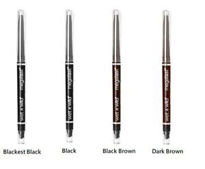 Wet N Wild Mega Last Retractable Eye Pencil w/Smudger Choose Your Shade Sealed