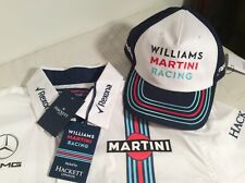 WILLIAMS MARTINI FORMULA 1 RACING Team Shirt (XXL) NWT and Cap
