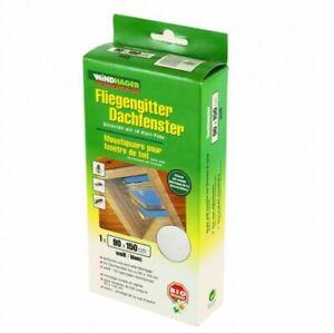 Fliegengitter für Dachfenster 90x150cm Windhager Schutz Netz Insektenschutz