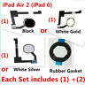 (1 Set) Home Button Holder Sticker Rubber Gasket  for iPad Mini 1 2 3 4 Air 1 2