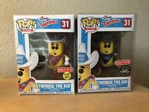 Funko Pop Ad Icons Hostess Twinkie The Kid Target Exclusive 31 glow chase GID