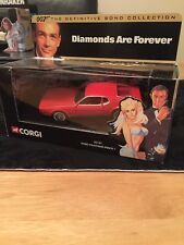 Corgi 02101 James Bond Diamonds Are Forever Ford Mustang