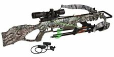 New Excalibur Matrix 350SE Crossbow Dead-Zone Scope Package Mossy Oak Treestand