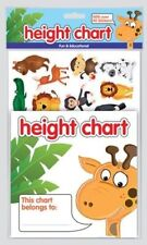 WDL Home, Garden, Pets & Party ! Children's Height Chart with over 40 Stickers