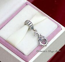 Authentic Genuine Pandora Sterling Silver Dragon Dangle Charm 790991