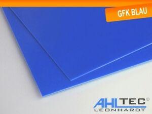 GFK Platte G10 FR4 blau Glasfaser / Dicke 1,0 mm / Größe wählbar