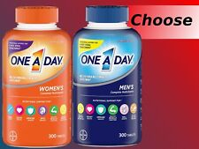 One A Day Men's / Women Multivitamin 300 Tablets Complete Vitamin BAYER Health!
