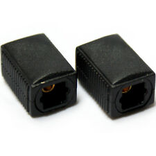 Optical Female to Socket Coupler Adapter - SPDIF/TOSlink Joiner Barrel Extension