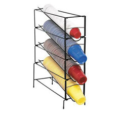 Adjustable Wire Cup Dispenser 6 44 Oz 4 Section