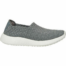 Skechers Women's Out of Sight Burst Gray Slip On Trainers Size UK 3 EUR 36