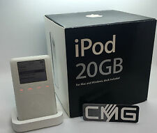 Apple iPod Classic 3.generation 20GB OVP (New Battery & FROM DEALER) RARE #739