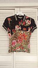Superbe chemisier t.shirt Roberto Cavalli taille 40