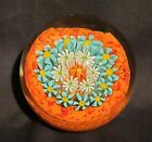 Vintage+Mid+Century+Golden+Crown+E%26R+Italy+Art+Glass+Paperweight
