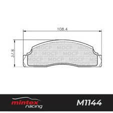 Mintex Racing MDB1110 M1144 High Performance Brake Pads