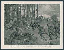 Albert Reich DT. Alpi corpo Serbia alte montagne Raska ibartal Balcani FRONT 1916