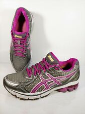 ASICS GEL GT 2170 Womens Sz 9 D Wide Purple Gray Silver Athletic Running Shoes