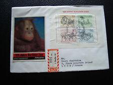 ALLEMAGNE (berlin) - enveloppe 1er jour 4/6/1969 (bloc yt n° 2) (cy69) germany