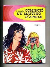 P.Ballario # COMINCIÒ UN MATTINO D'APRILE # Malipiero 1969