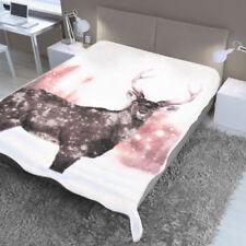 Couvertures modernes blancs pour le lit