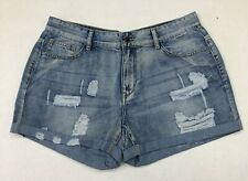 NEW Denim Blue Women Jeans Shorts Vintage chic size L