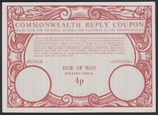 ISLE OF MAN, 1973. Commonwealth Reply Coupon 4p, Mint