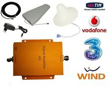 AMPLIFICATORE  RIPETITORE SEGNALE 4G LTE GSM UMTS ANTENNA TIM WIND VODAFONE 3 3G